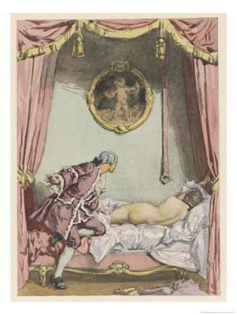 Giovanni Giacomo Casanova Italian Adventurer, He Finds Zeroli Asleep