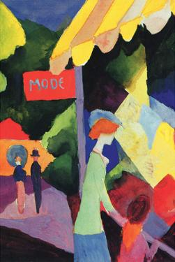 Fashion Window by Auguste Macke
