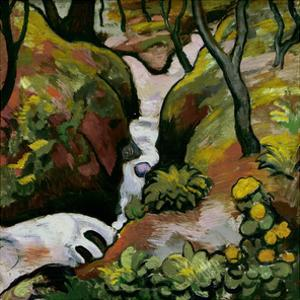 Forest Brook by Auguste Macke