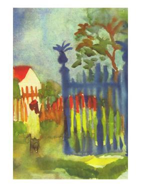 Garden Gate by Auguste Macke