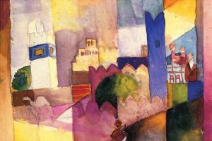 Kairouan by Auguste Macke