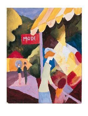 Modefenste by Auguste Macke