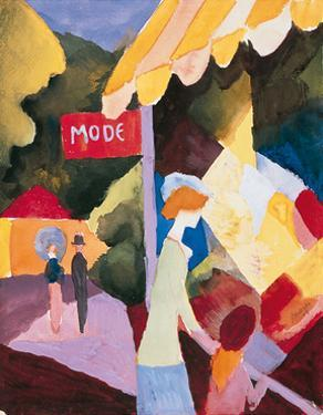 Modefenste by Auguste Macke