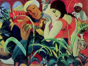 Oriental Women (Odalisques), 1912 by Auguste Macke