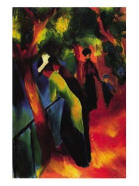 Sunny Way by Auguste Macke