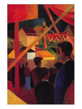Tightrope by Auguste Macke