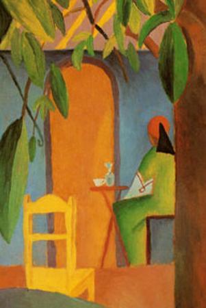 Turkish Café II by Auguste Macke