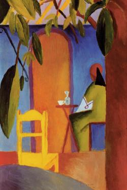 Turkish Cafe II by Auguste Macke