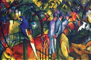 Zoological Gardens by Auguste Macke