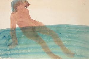 Bathing Woman, C.1901-1902 by Auguste Rodin