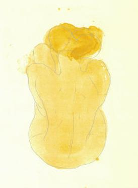 Femme Nue Assise et de Dos, c.1899 by Auguste Rodin