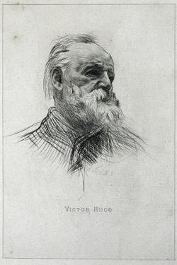 Portrait of Victor Hugo by Auguste Rodin