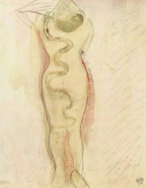 Serpent Et Eve by Auguste Rodin