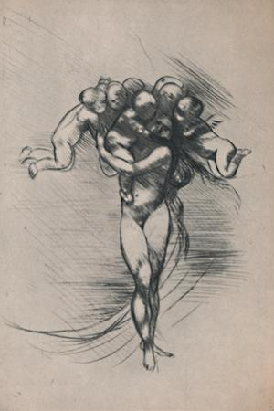 'Springtime', c.1880s, (1946) by Auguste Rodin