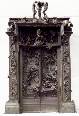 The Gates of Hell, 880-90 by Auguste Rodin