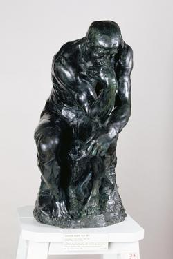 The Thinker, 1880 by Auguste Rodin