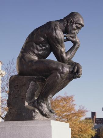 The Thinker, 1904 (Bronze)