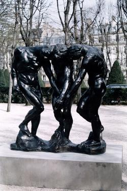 The Three Shades, 1881 by Auguste Rodin