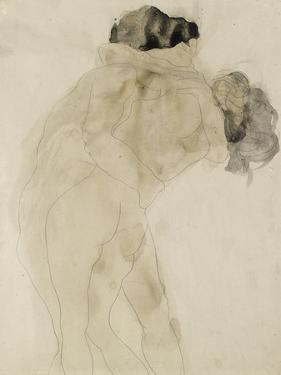 Two Embracing Figures by Auguste Rodin