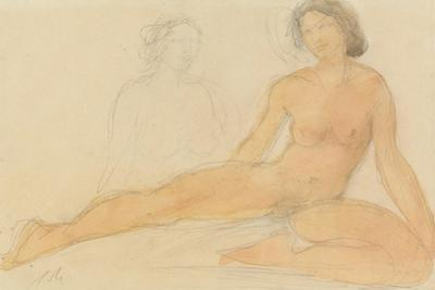 Two Seated Nudes