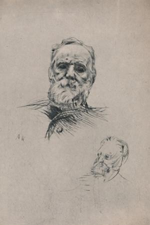 'Victor Hugo', c.1884, (1946) by Auguste Rodin
