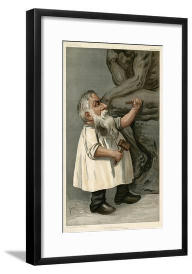 Auguste Rodin--Framed Giclee Print