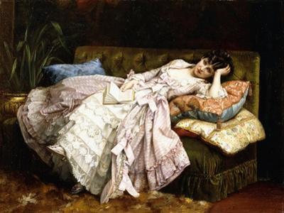 A Reclining Beauty, 1877