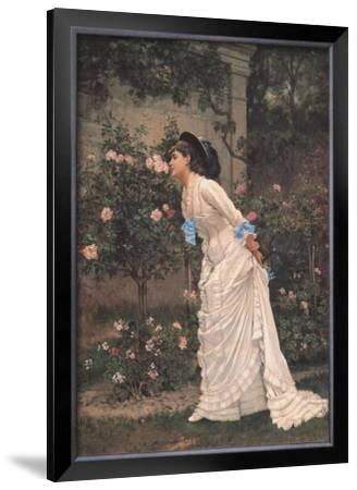 Girl and Roses