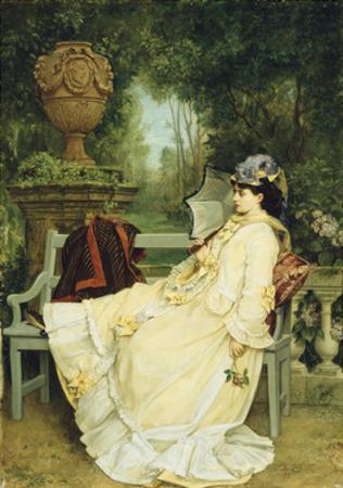 In the Garden, 1872