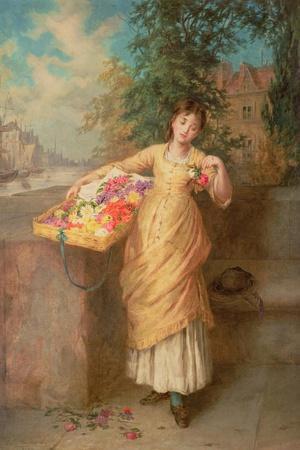 The Flower Seller, 1882