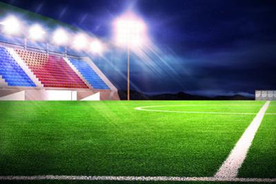Soccer Stadium Night by auimeesri
