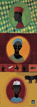 Africain Headdresses by Aurelia Fronty