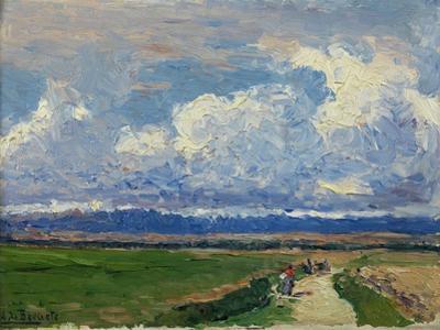 Landscape, Ca. 1910 by Aureliano De Beruete