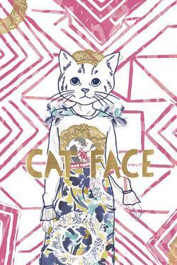 Fashionista Cat by Aurora Bell