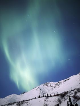 Aurora Borealis, Chugach State Park, Anchorage, Alaska