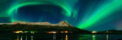 Aurora Borealis, Mt Ejsa, Reykjavik, Iceland