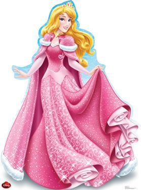 Aurora Holiday - Disney Lifesize Standup