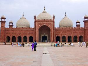 Badshahi Mosque, One of the Largest in the World by Austin Bush