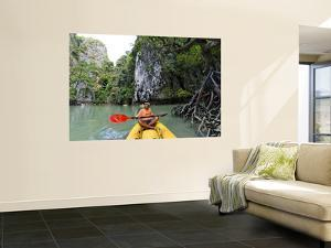 Kayak on Ao Phang Nga by Austin Bush
