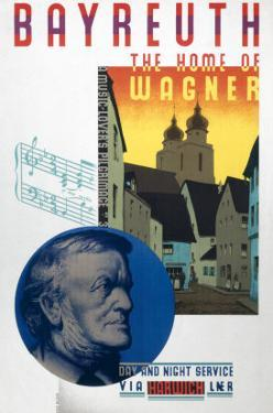 Bayreuth, the Home of Wagner by Austin Cooper