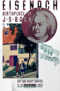 Eisenach, Birthplace of Bach by Austin Cooper