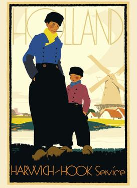 Holland - Harwich-Hook Service Netherlands - London & North Eastern Railway (LNER) by Austin Cooper