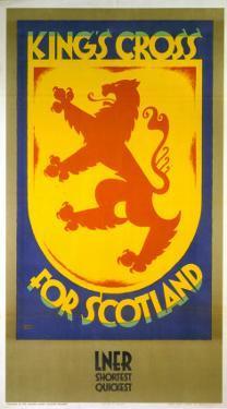King's Cross for Scotland, LNER, c.1923-1947 by Austin Cooper