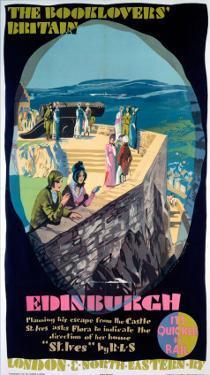 The Booklovers Britain: Edinburgh, LNER, c.1930s by Austin Cooper