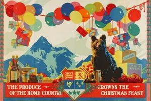 The Produce of the Home Country Crowns the Christmas Feast by Austin Cooper