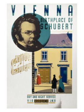 Vienna, Birthplace of Schubert by Austin Cooper