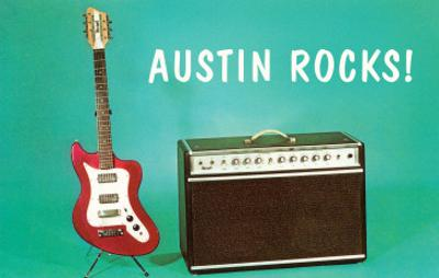 Austin Rocks Electric Guitar and Amp
