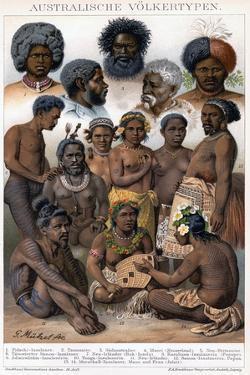Australian Inhabitants, 1800-1850 by G Mutzel