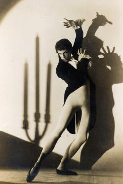 Postcard of Robert Helmann by Australian Photographer