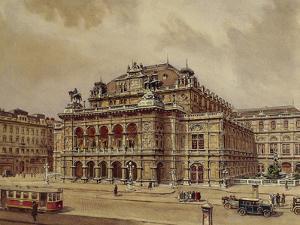 Austria, Vienna, Opera House